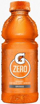 Orange Gatorade Thirst Quencher