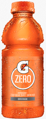 Orange Gatorade Thirst Quencher