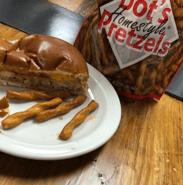 Bernick's Micro Market Sandwich and Dot's Pretzels