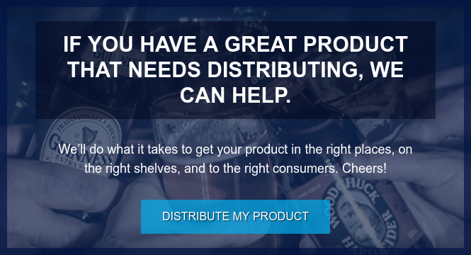 If you have a great product that needs distributing, we can help.  We'll do what it takes to get your product in the right places, on the right  shelves, and to the right consumers. Cheers! Distribute My Product